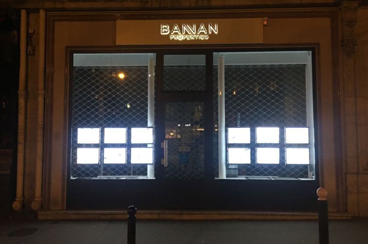 Bannan Properties by night